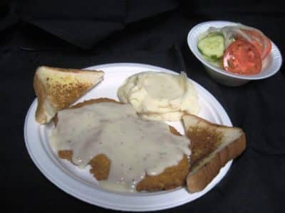 Chicken Fried Steak Dinner-Tex Star Grill