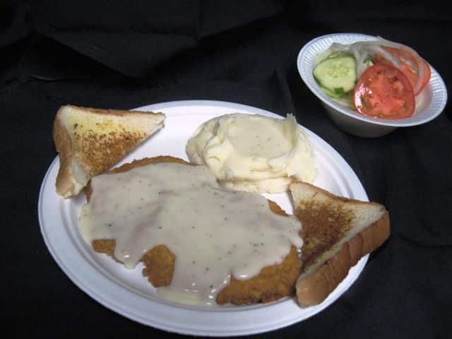 Chicken Fried Steak or Chicken Fried Chicken Dinner