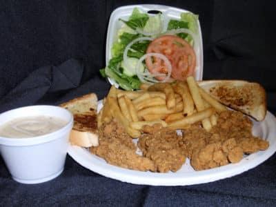 Chicken Tender Dinner-Tex Star Grill