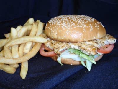 Grilled Chicken Breast Sandwich-Tex Star Grill
